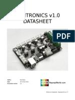 datasheet minitronics v1