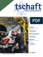 Wirtschaft in Bremen 12/2014 - Autoregion Nordwest