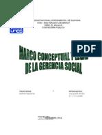 Marco Conceptual de La Gerencia Social2