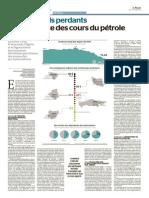 Les Grands Perdants de La Chute Des Cours Du Pétrole LE MONDE Jeudi 4 Decembre 2014