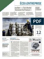 Le Monde Eco Lopep Laisse Ouvertes Les Vannes Du Petrole 29 Novembre 2014