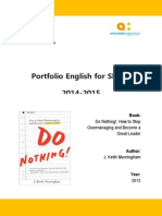 book report - do nothing