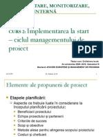 Implementare, Monitorizare, Evaluare InternĂ