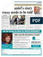 Sheriff Daniel's Story 'really needs to be told'