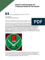 36585299 Muslim Brotherhood 'Direct Access' Stimulus Grants Brim