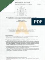 Auxilio Judicial 2ºejercicio Practico 2012