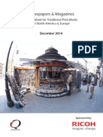 Ricoh Whitepaper - Newspapers and Magazines the Outlook for Traditional Print Media NA and Europe_t_57-82018