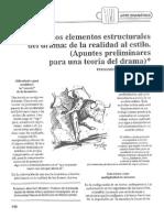 Martinez Monroy, Fernando - Los Elementos Estructurales Del Drama