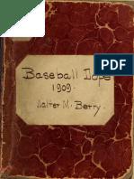 Baseball Dope for 100 Un Se
