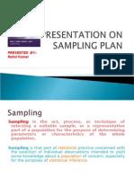 Sampling Plan 123