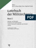 Lehrbuch der Militärchemie Band 2 - Siegfried Franke