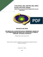 Proyecto de Tesis ADMINISTRACIÓN