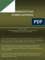 sediementaria ferruginosas
