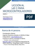 Introducción Al Lenguaje C Para Microcontroladores