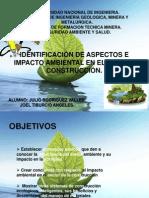 ASPECTOS E IMPACTOS AMBIENTALES EN LE SECTOR CONSTRUCCION