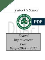 School Improvement Plan Draft Copy 2014 - 2017