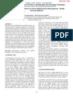 A Quick Predictive Handover to ensure Optimal QoS in Heterogeneous Mobile Network Platform