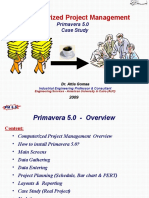 Primavera 5 or 6 Case Study - 05 12 08
