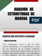 Reparacion de Estructura de Madera