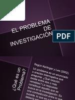 El Problem a de Investigacion