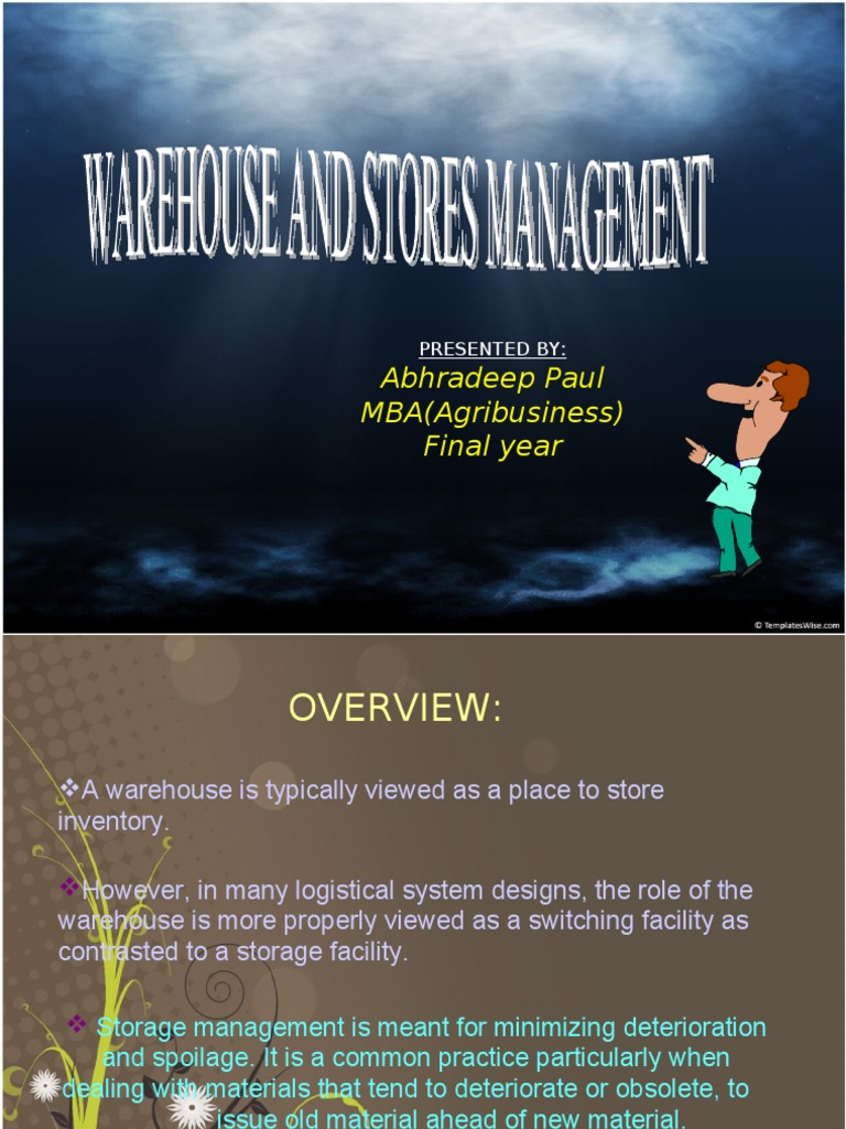 Warehouse Mgmt | Warehouse | Inventory