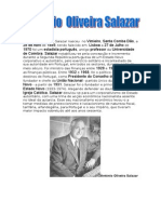 Biografia de Oliveira Salazar