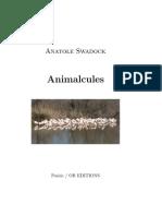 Animalcules, par Anatole Swadock