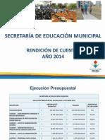 2 Rendicion de Cuentas 2014