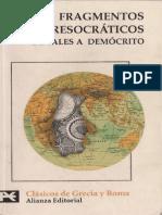 141222603 Fragmentos Presocraticos de Tales a Democrito