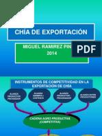 Chia Export 2014