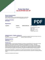 Glucopon 625 UP