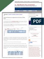 Reportes dinámicos con segmentación de datos en Tablas Excel ~ JLD Excel en Castellano - Usar Microsoft Excel eficientemente