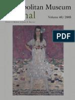 The Metropolitan Museum Journal v 40 2005