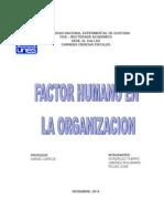 El Factor Humano en La Organización Local 2