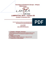 LAMPEA-Doc 2014 – numéro 38 / Vendredi 12 décembre 2014