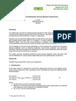 Fault Current DistributionTransformers