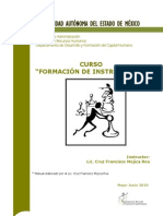 Manual Formacion de Instructores