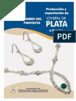 Producción y Exportación de Joyas de Plata a Suecia_estudio Tecnico Del Py
