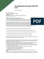 Los Códigos de Diagnóstico Del Cat D5N LGP Son