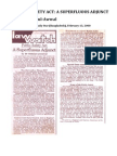 Iftikhar-ul-Awwal (2000) 'Public Safety Act