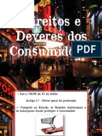 Power Point - legislação dos direitos dos consumidores