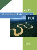 Geomorfología Fluvial en Los Ríos Amazónicos