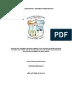 Análisis Del Maltrato Infantil Familiar en El Proceso de Adaptación de Los Niños Del Primer Año de Educación Básica de Las Escuelas Fiscales de La Ciudad de Baños de Agua Santa