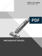 Precision Hardware M1705A TRIM 626