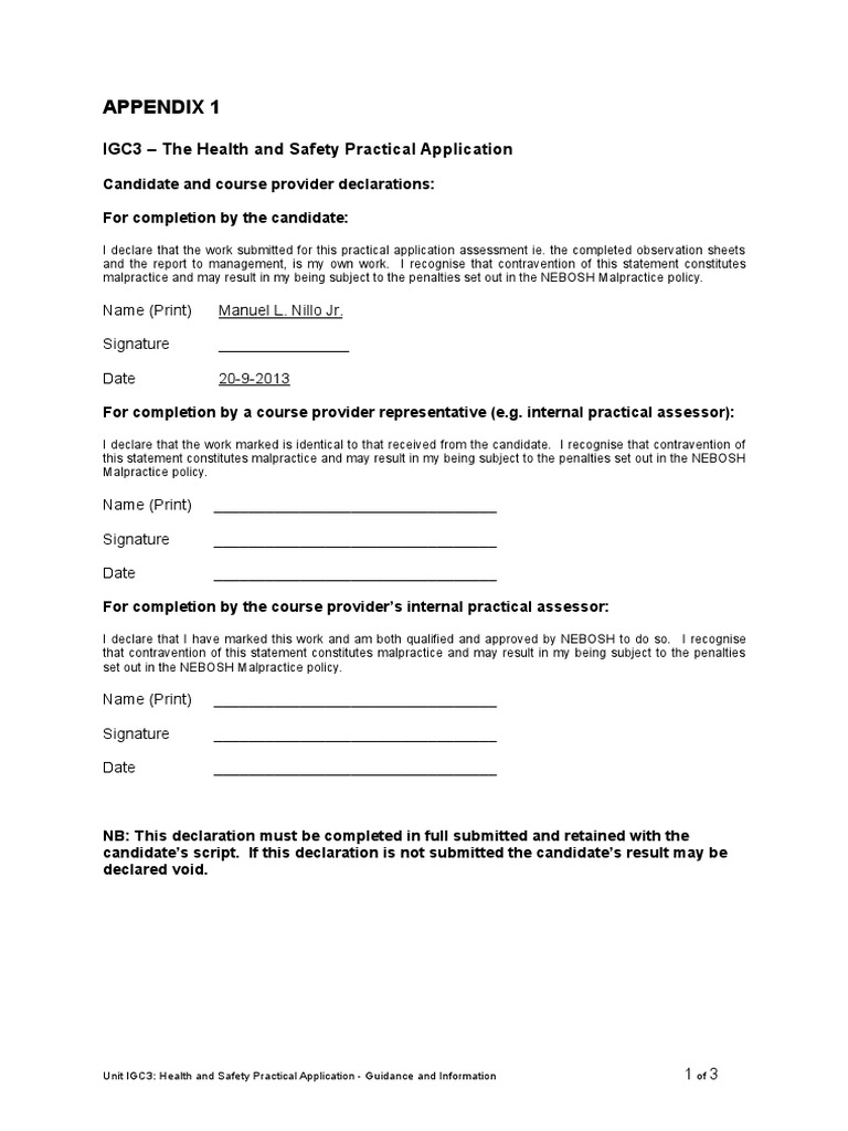 AIGC3 Practical Assessment Candidates Sheets