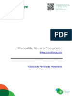 Manual Pedido de Materiales 13082013
