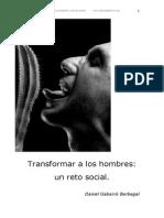 Transformar a Los Hombres Un Reto Social