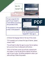 Rosetta Stone Instructions
