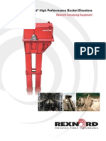 Rexnord High Performance Bucket Elevators 5510