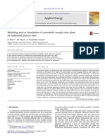 Modeling and Co-simulation of a Parabolic Trough Solar Plant for Industrial Process Heat[R Silva, M Perez]2013(Paper)